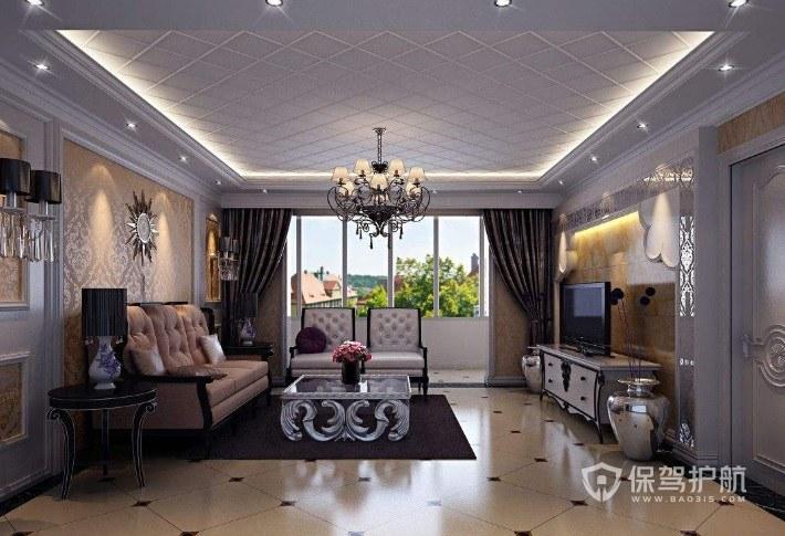 客厅装修欧式风格怎么设计? 欧式客厅装修效果图