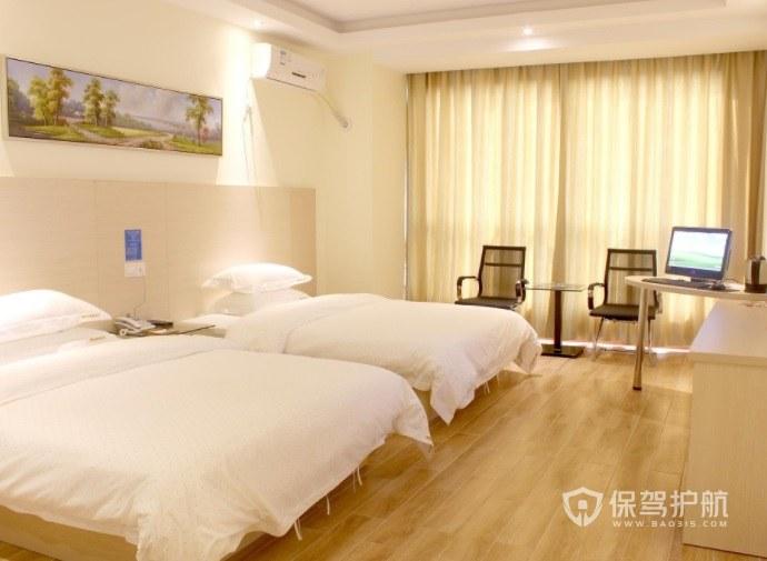 日式简约温馨酒店房间装修效果图