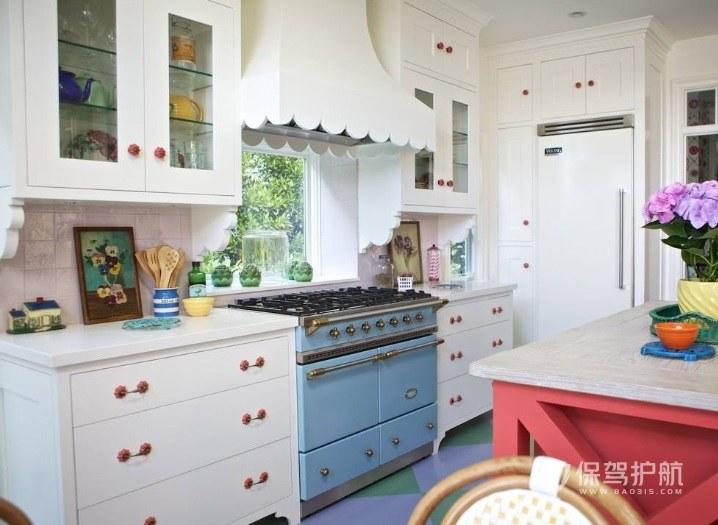 厨房怎么装修田园风格?田园风厨房装修效果图