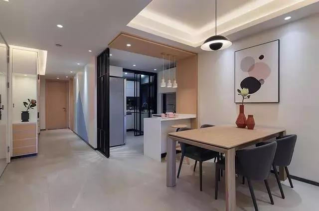 147㎡三室两厅装修案例,不设主灯和电视柜,效果却惊艳了所有人!