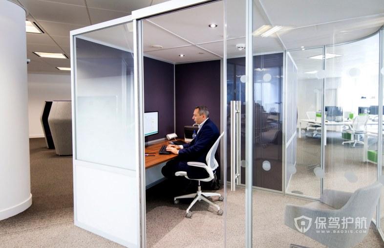 欧美领导办公室装修效果图