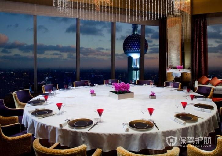 意大利豪华餐厅风景房装修效果图