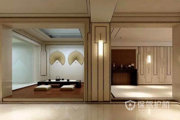 中式柱子怎样装饰?中式柱子装饰图