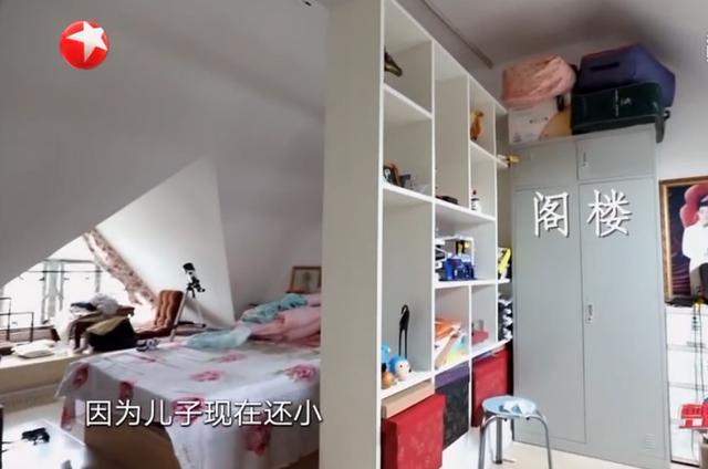 上海二胎家庭住62㎡复式楼,厨房不足4平,装修改造后变身梦幻乐园