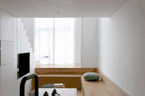 一家三口挤30㎡公寓却十分幸福,后来才知道,居然设计的这么完美