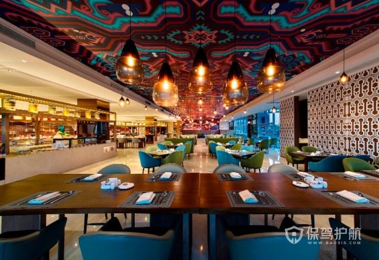 摩洛哥复古创意餐厅装修效果图