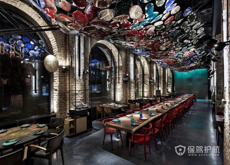 哥特式时尚创意餐厅装修效果图
