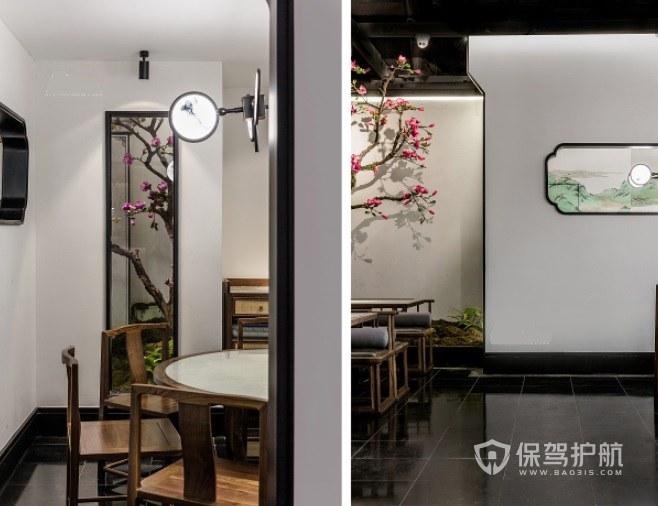 中式简约古风餐厅装修效果图