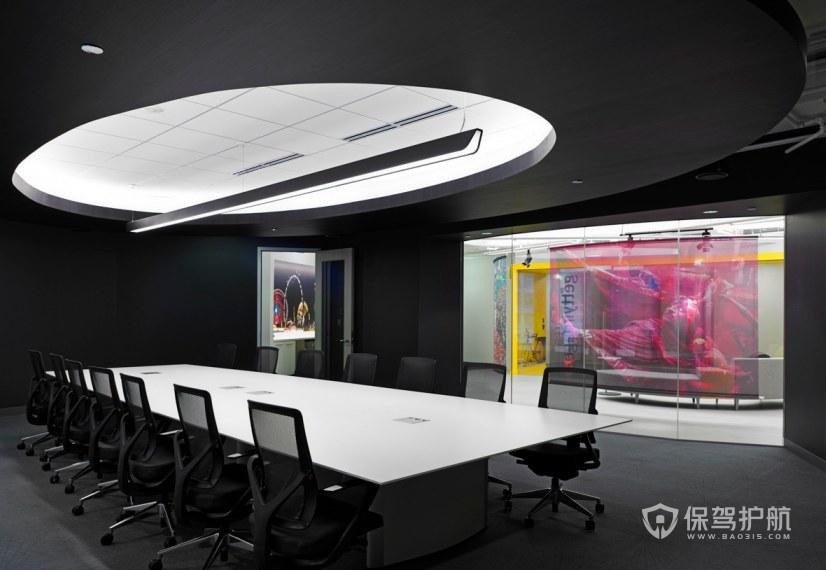 新古典风格办公会议室装修效果图