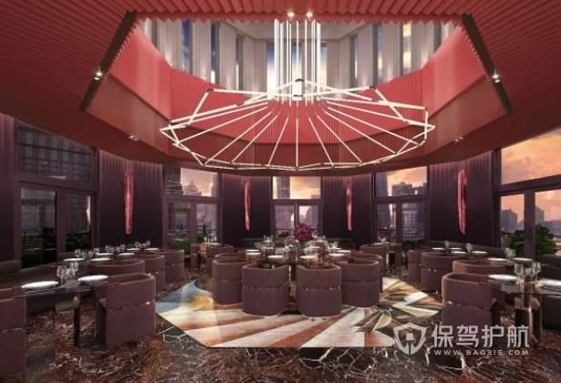 欧式创意餐厅吊灯装修效果图