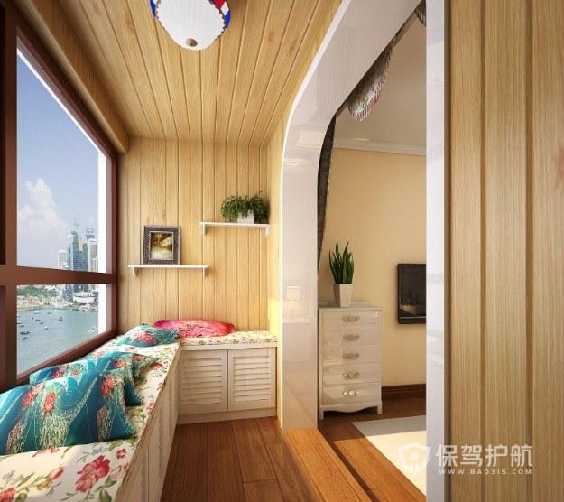 小阳台改成卧室好吗?1米5的阳台怎么改小卧室?