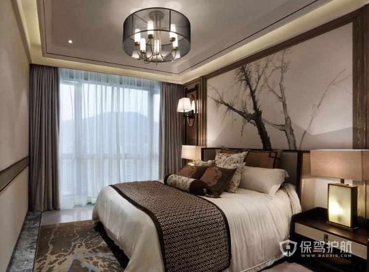 带阳台的卧室怎么挂窗帘?卧室阳台的窗帘怎么选择?