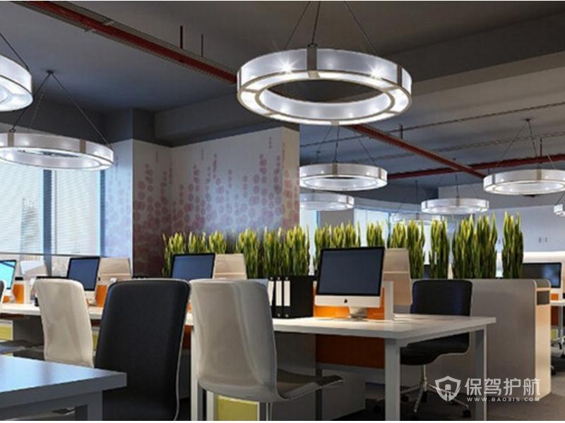 办公室创意灯饰装修效果图