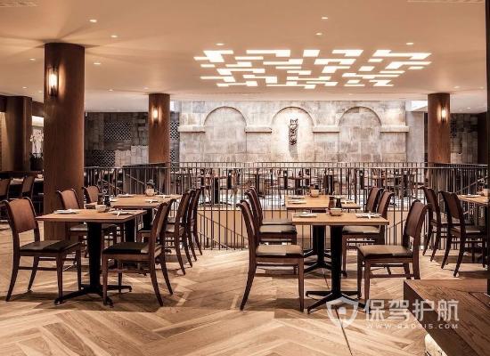 新中式风格饭店灯光设计效果图