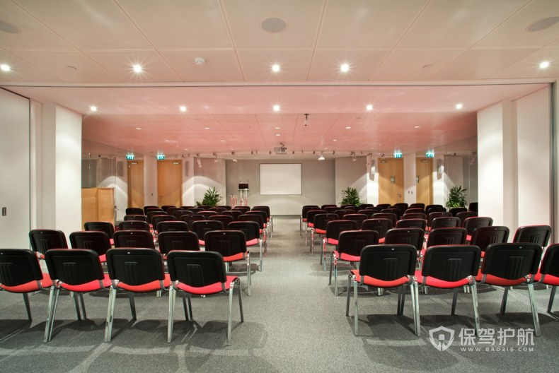 公司多媒体会议室装修效果图