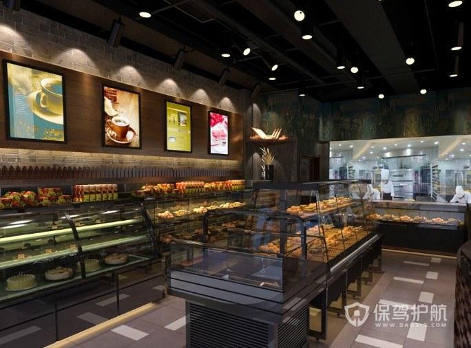 蛋糕店形象墙怎么设计?蛋糕店形象墙设计效果图