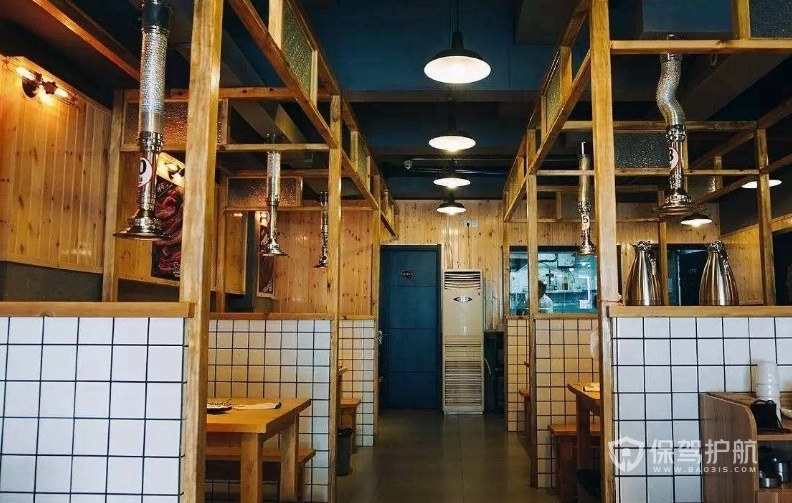 韩国烤肉店装修图 韩式烤肉店怎么装修布置生意好?