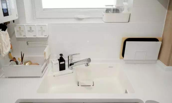 别嫌麻烦,水槽上做这8个小改造,改完越用越顺手!