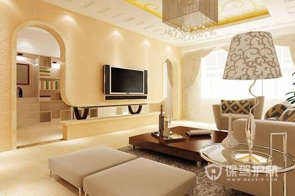 室內硅藻泥裝飾效果-保駕護航裝修網