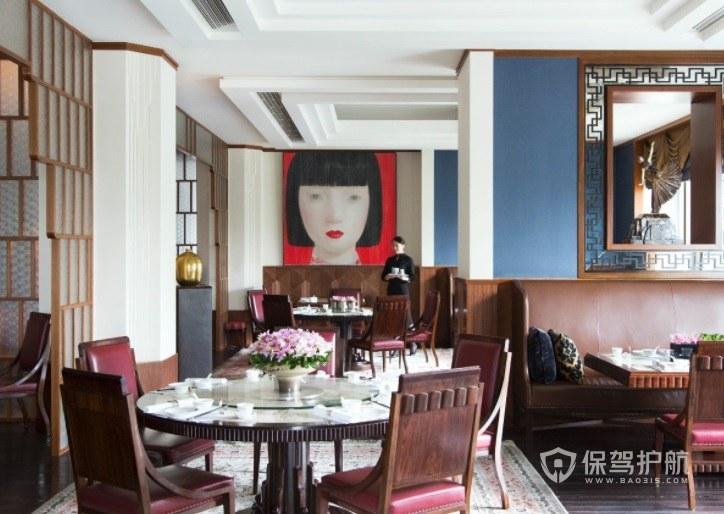 北欧风创意私人餐厅装修效果图