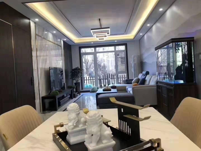 金域蓝湾新中式风格四居室装修效果图