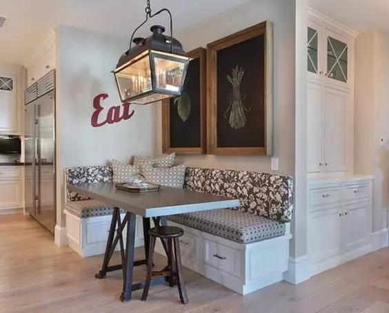 99%小户型业主都会选的餐厅装修设计,省空间还美观