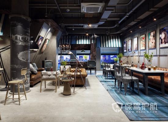 120平咖啡店装修预算方案 咖啡店装修材料清单