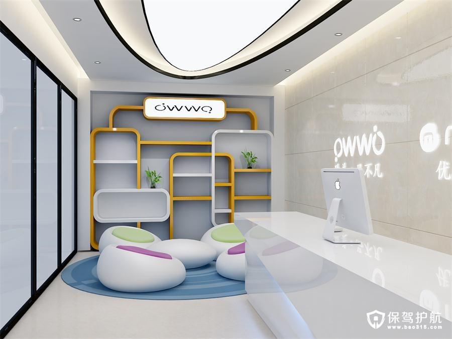 泰邦科技简约风格办公室装修效果图