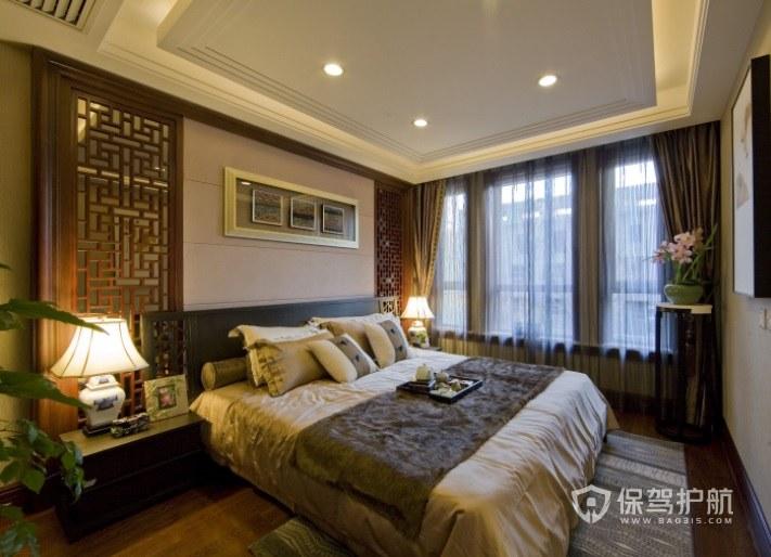 英式古典成熟风酒店房间装修效果图