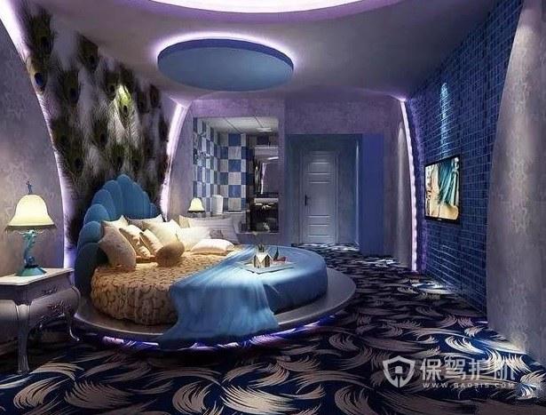 西班牙海洋风主题酒店房间装修效果图