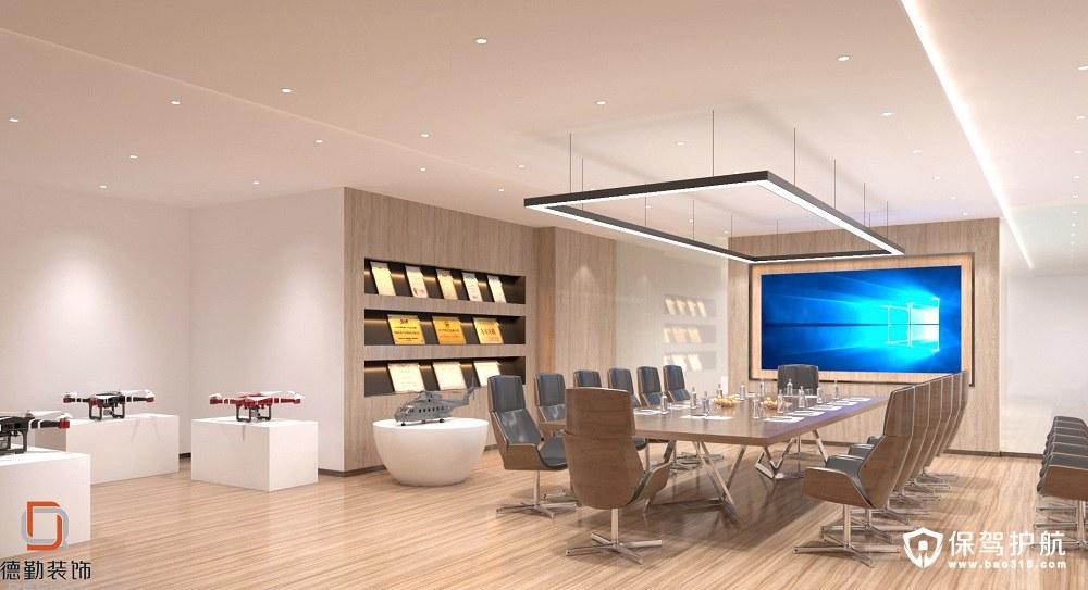 高科新农现代风格办公楼装修效果图