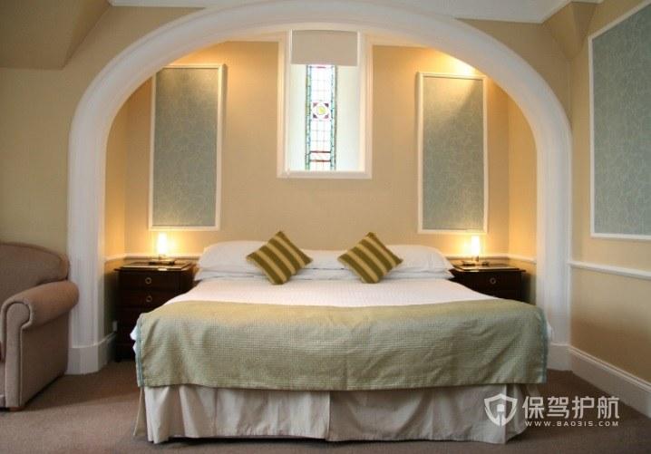意大利创意温馨酒店房间装修效果图