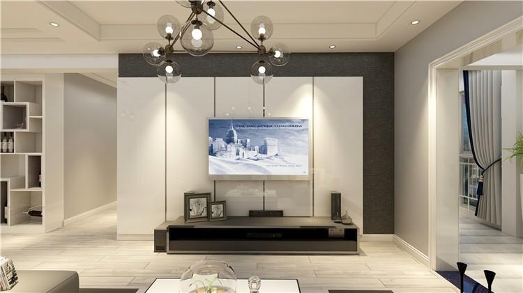 都匀沸城国际-124平米装修效果图-现代风格