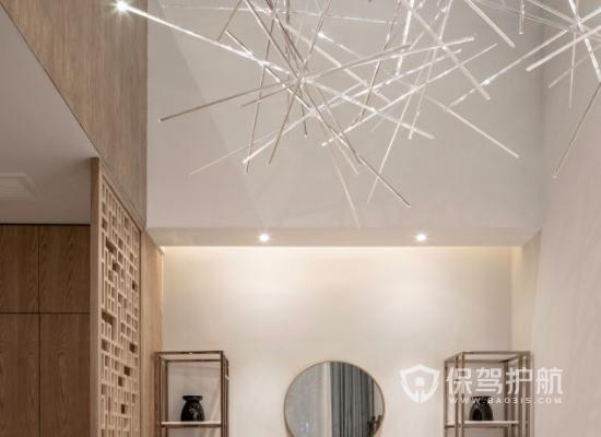 日式风格美容机构灯光设计效果图