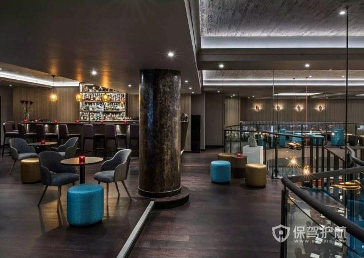 复古典雅西餐厅装修效果图