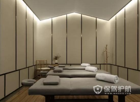 中式风格美容机构灯光设计效果图