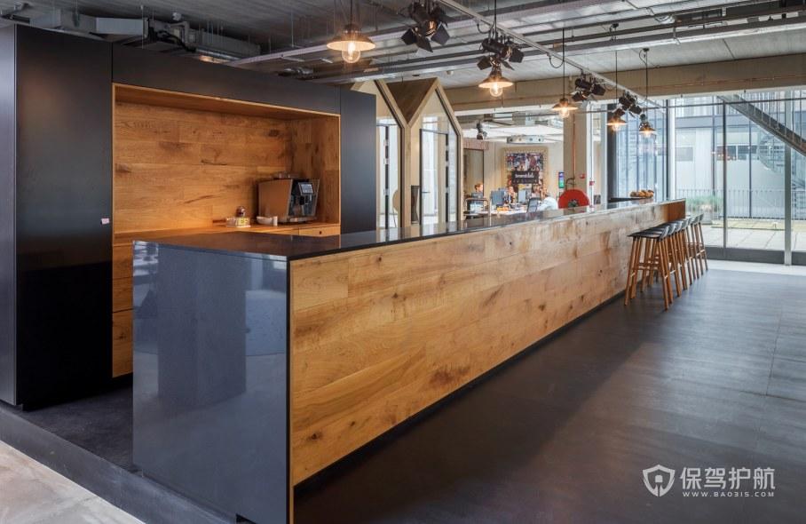 欧美风格办公室茶水区装修效果图
