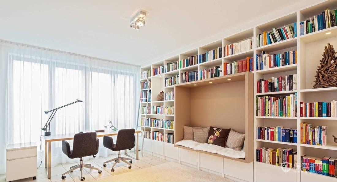 书柜深度多少合适?书柜各项尺寸设计标准