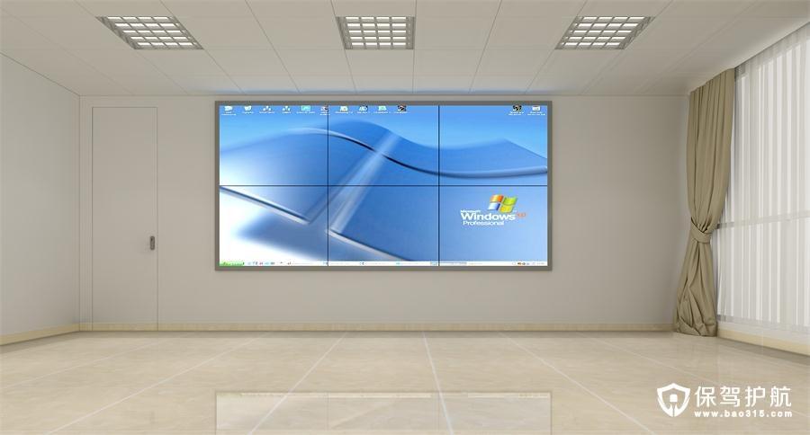 东深公司办公室装修设计效果图