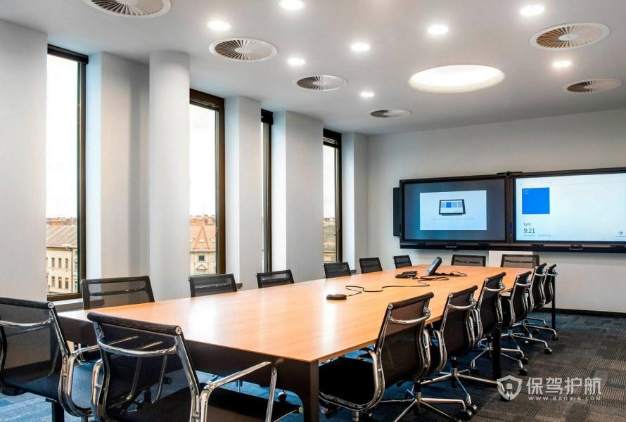 高档办公会议室装修效果图