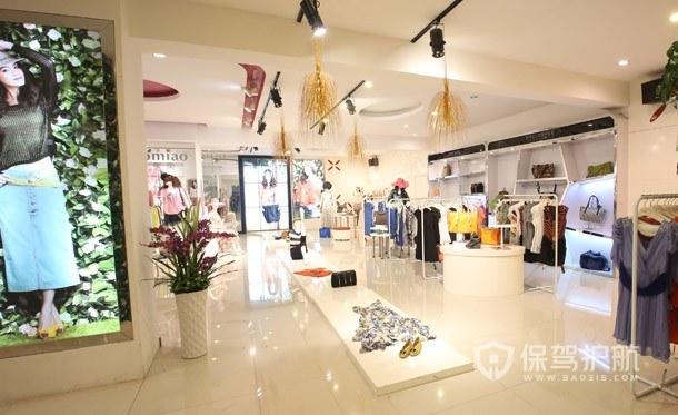 韩式服装店怎么装修吸引顾客?韩式服装店装修图
