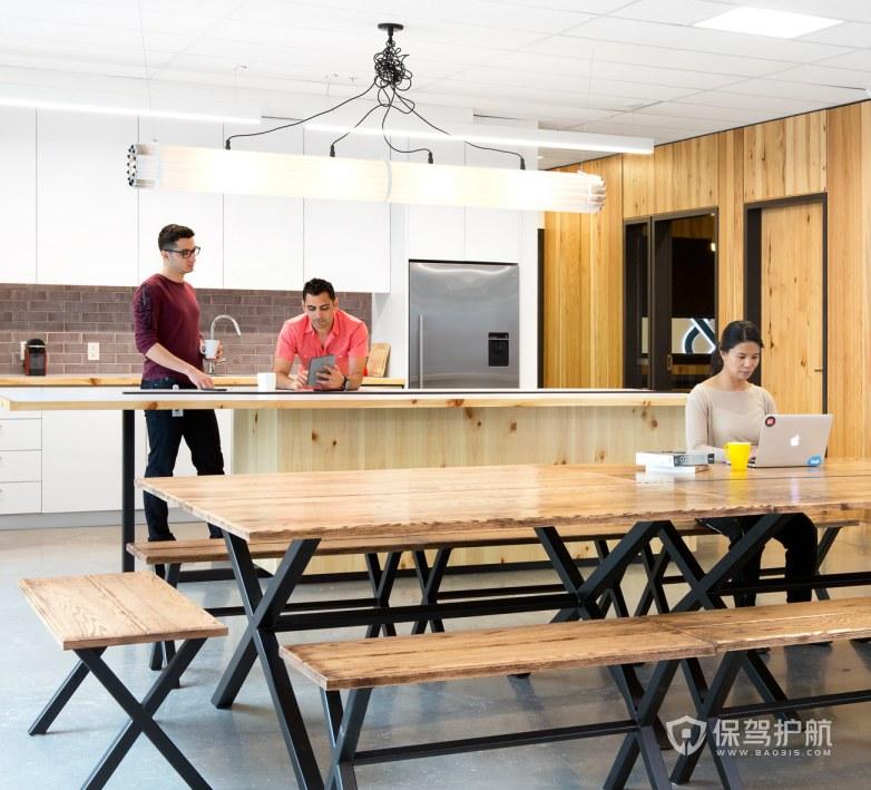 国外办公室茶水区装修效果图