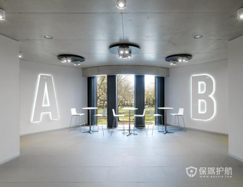 后现代风格办公室休息区装修效果图