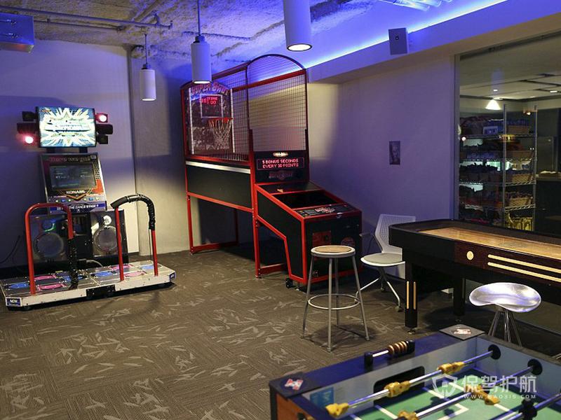 创意办公室娱乐室装修效果图