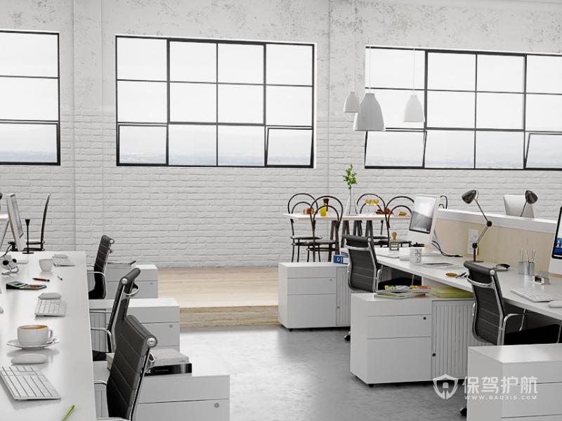 北欧办公室装修效果图