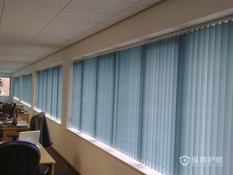 办公室窗帘装修效果图