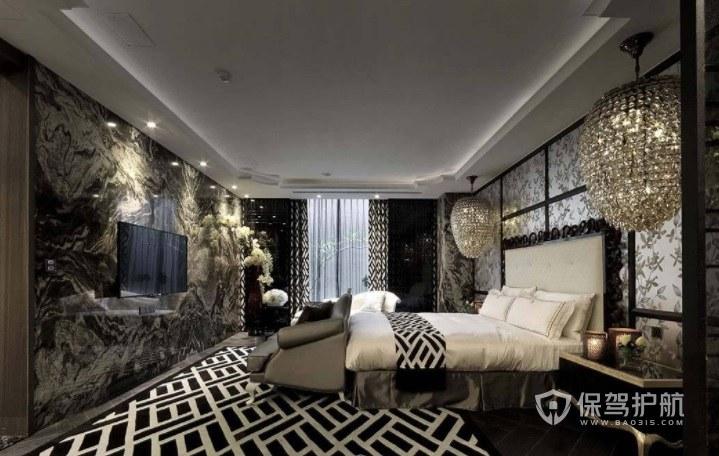 英式豪华时尚酒店房间装修效果图