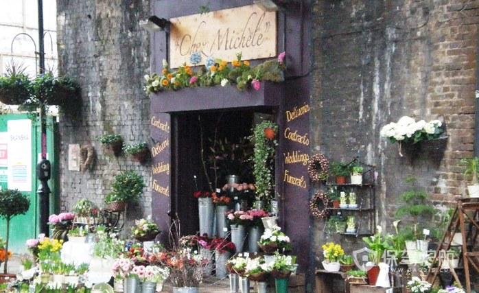 鲜花店门头怎么设计?鲜花店创意门头设计效果图