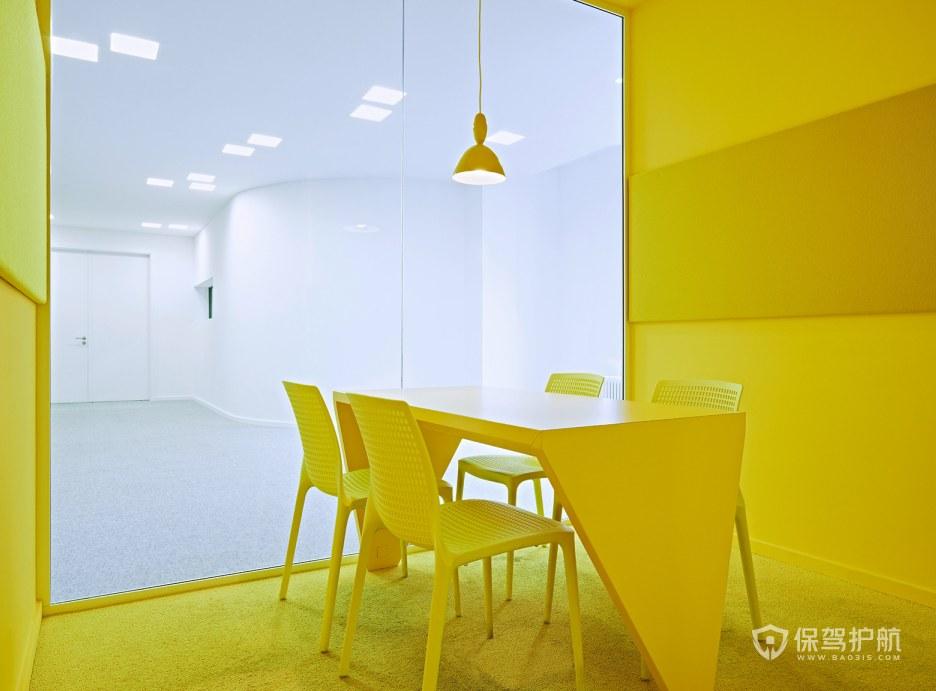 北欧风格办公培训室装修效果图