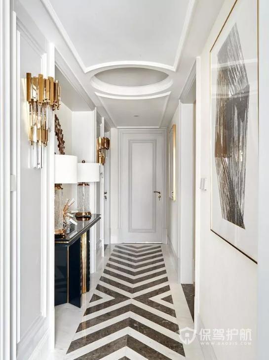 家里有走廊怎么装修?10款好看的设计,实用大方高颜值